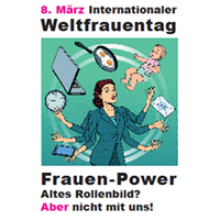 Weltfrauentag am 08.03.2021